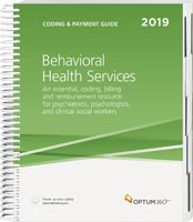 Coding and Payment Guide for Behavioral Health Services 2019