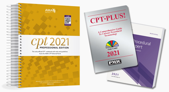 Up to 20% Off all 2021 CPT books