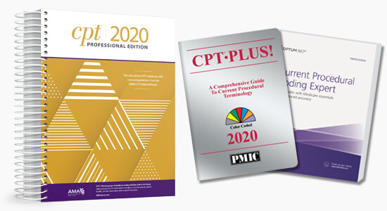 Up to 20% Off All 2020 CPT code books