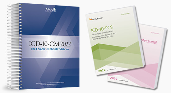 Up to 20% Off all 2022 ICD10 code books