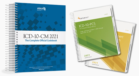 Up to 20% Off all 2021 ICD10 books