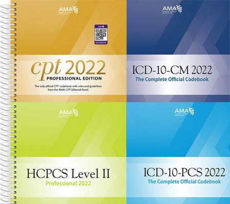 2022 Hospital Coding Book Bundle Four