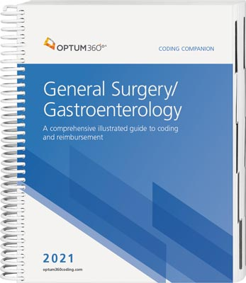 Coding Companion for General Surgery / Gastroenterology 2021