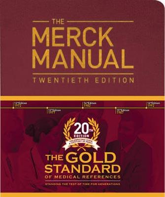 Merck Manual 20th Edition