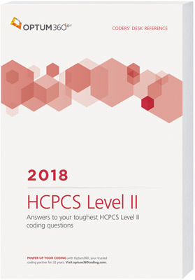 Coders' Desk Reference for HCPCS 2018