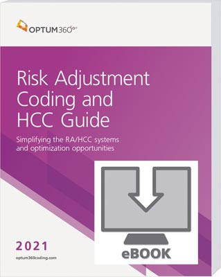 Risk Adjustment Coding and HCC Guide 2021 eBook