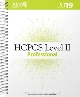 HCPCS Level II 2019
