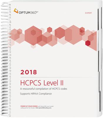 HCPCS Level II Expert 2018 Spiral