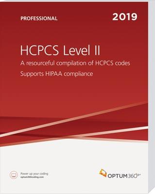 HCPCS Level II Professional 2019 Softbound