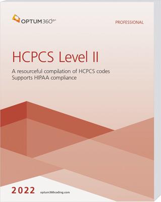 HCPCS Level II Professional 2022 Softbound