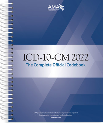 ICD-10-CM 2022: The Complete Official Code Book