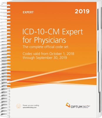 ICD-10-CM Expert for Physicians 2019