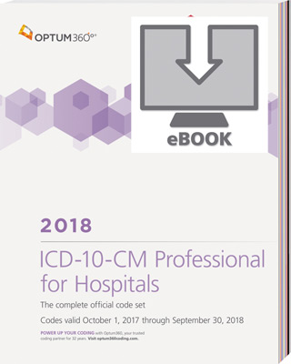 ICD-10-CM Professional for Hospitals 2018 eBook