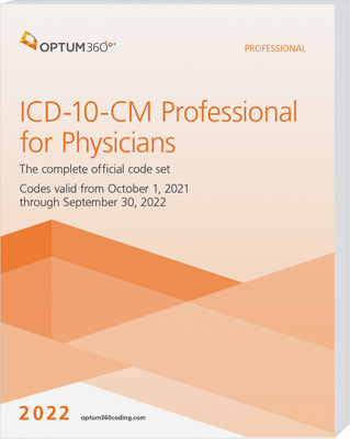 ICD-10-CM Professional for Physicians 2022