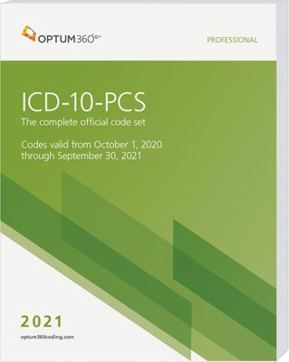 ICD-10-PCS Professional Softbound 2021