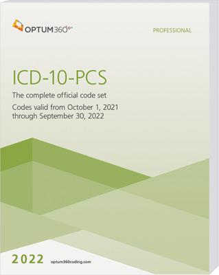 ICD-10-PCS Professional Softbound 2022