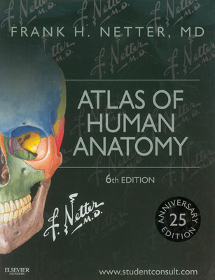 Netter\'s Atlas of Human Anatomy 6th Edition | MedicalCodingBooks.com