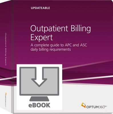 Outpatient Billing Expert eBook