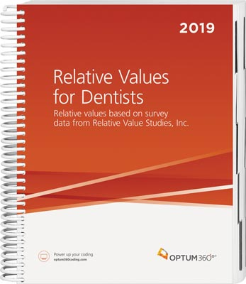 Relative Values for Dentists 2019
