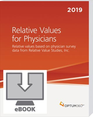 Relative Values for Physicians 2019 eBook