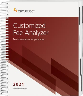 Customized Fee Analyzer One Specialty 2021