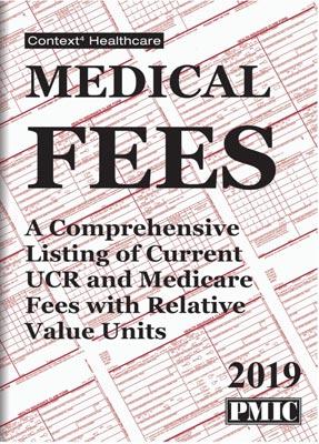 Medical Fees 2019
