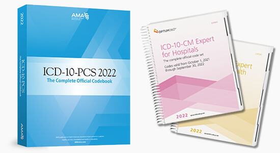 Up to 20% Off all 2022 ICD10 coding book pre-orders