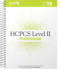 10% off AMA HCPCS 2019