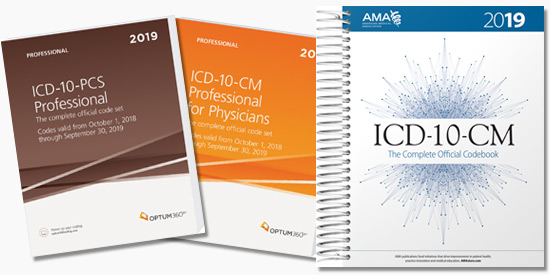 10% Off All 2019 ICD-10 Code Books