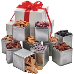 Personal Picks 10-Tin Boxed Tower Gift