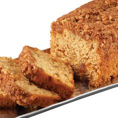 Cinnamon Streusel Apple Coffee Cake