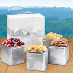 Apple Dream 4-Tin Boxed Gift Set