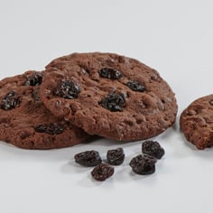 Double Chocolate Cherry Homestyle Cookies
