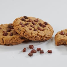 Peanut Butter Strawberry Homestyle Cookies