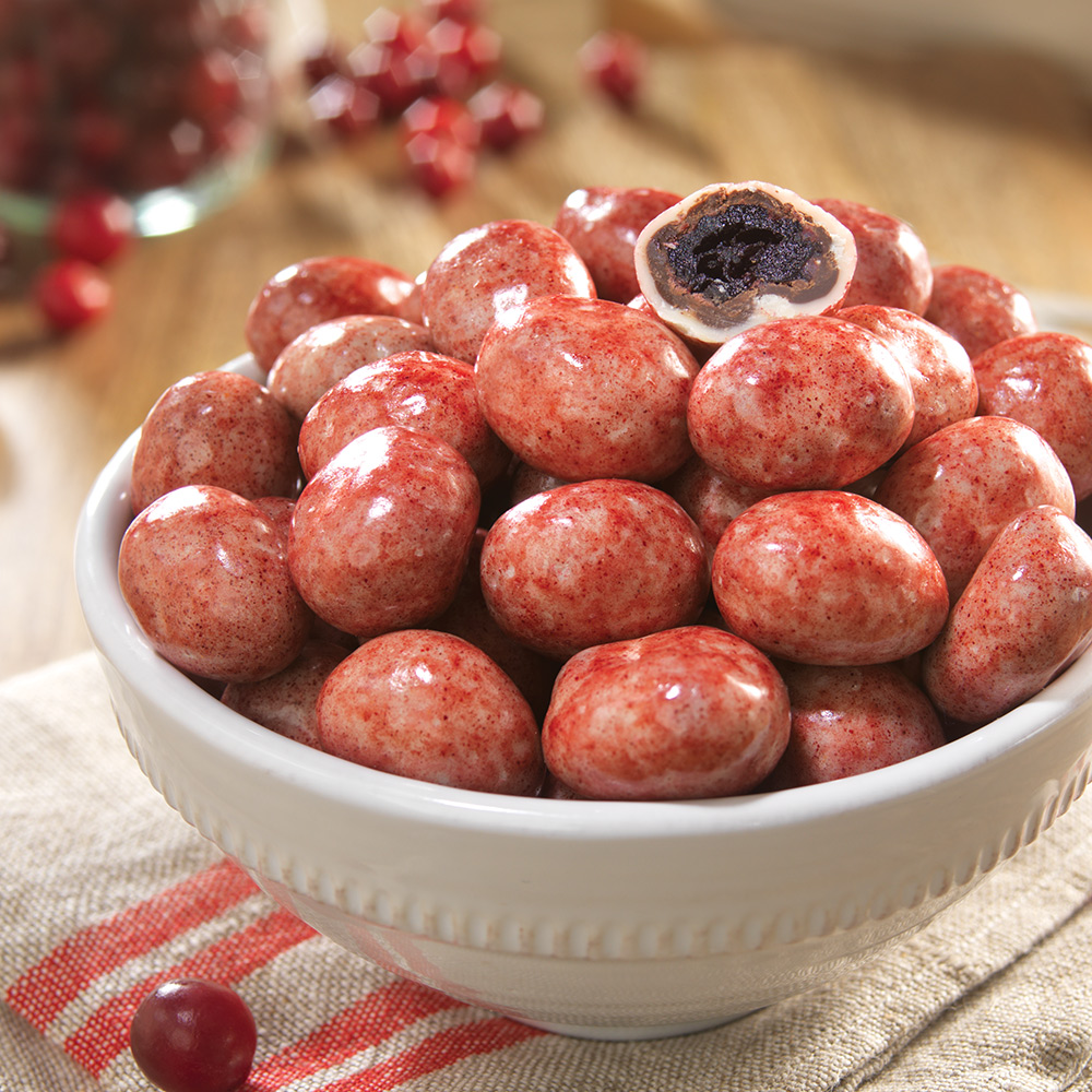 All-Natural Cranberry Chocolates