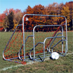 Small Sided Soccer Goals with Groundbar