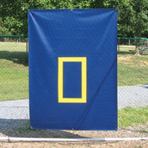 Batting Cage Backdrop Protector