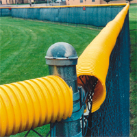 Poly-Cap Protection, 250 ft, Bright Yellow | Memphis Net & Twine