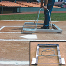 E-Z Batter's Baseball Box Chalker, Combination 3' X 7' Softball, 3' X 6' Youth