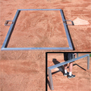 Batter's Box Template, 3' X 6' Heavy Duty