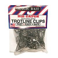 Stainless Trotline Clips 25/bg