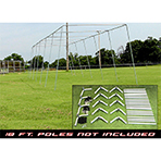 Free Standing Batting Cage Frames
