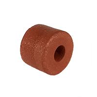 Float, PVC Sponge, 2 in. dia. by 1-1/2 in., Rust