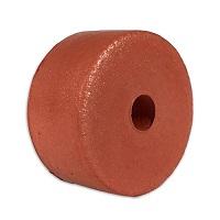 Float, PVC Sponge, 3 in. dia. by 1-1/2 in., Rust