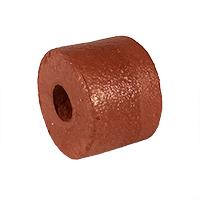 PVC Sponge Float, 3 in. dia. by 3 in., Rust | Memphis Net & Twine