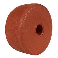 "Float, PVC Sponge, 3-1/2"" dia. by 1-1/2"", Rust"
