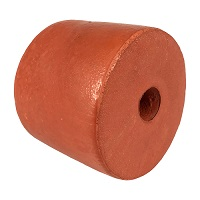 Float, PVC Sponge, 4-1/2 in. dia. by 3-1/2 in., Rust
