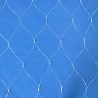 "Mono Trammel Net, 12"" Walling, (511) #6, 2-1/2"" Sq., 5"" Str. 6' Deep, (27 MD)Sold by the yard"