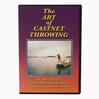"""The Art of Castnet Throwing"" DVD"