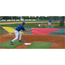 Bunt Zone Infield Protector, Minor League: 15' (D) X 18' X 48'